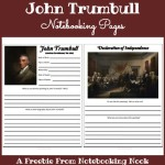 Freebie: John Trumbull Notebooking Pages