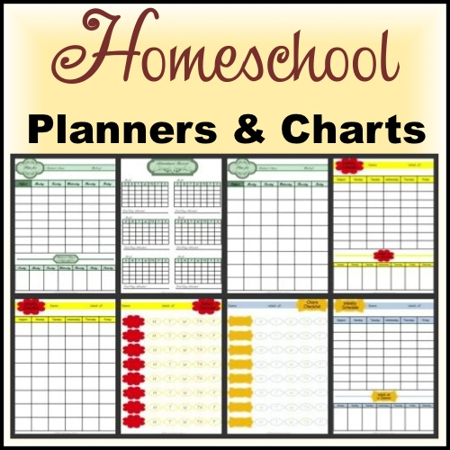 Homeschool planning pages notebooking nook for Homeschool checklist template