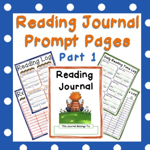 Reading Journal Prompts - Reading Logs and Cover Pages