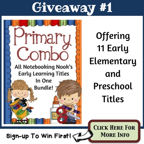 Giveaway #1 - Primary Combo