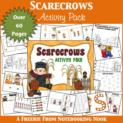Freebie: Scarecrow Activity Pages
